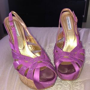 Charles David Purple heel